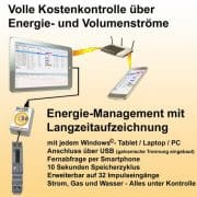 S0-Recorder-Starterset mit S0-USB-Adapter und Wechselstromzaehler