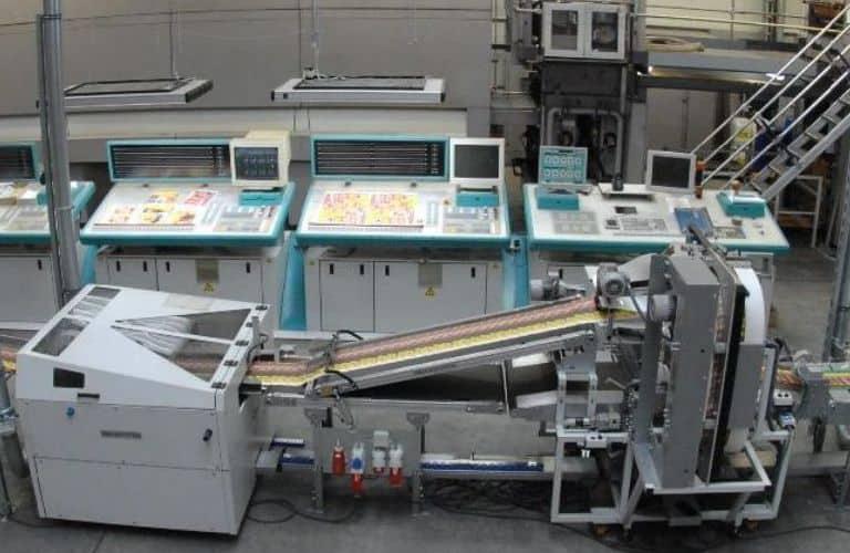 Monitoring von Stromverbrauch in einer Druckerei im S0-Recorder
