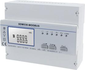 SDM530 Modbus-Drehstromzähler mit S0-Recorder auslesen