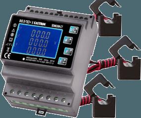 SDM630M-CT Modbus-Drehstromzähler mit Stromwandlern für den S0-Recorder