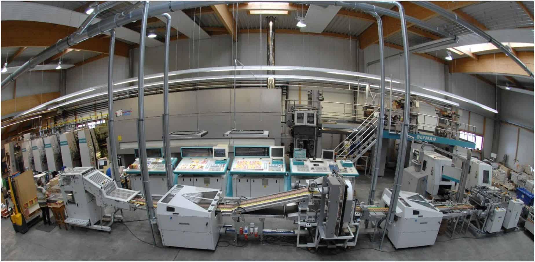 Gasverbrauch und Stromkosten in einer Druckerei mit dem S0-Recorder gemessen und aufgezeichnet