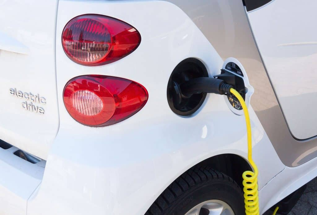 Stromverbrauch eines E-Autos mit dem S0-Recorder erfasst