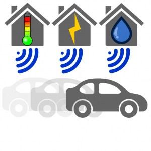 wM-Bus-Geräte ermöglichen Drive-By-Fernablesung von Gas, Wasser und Strom über mehrere 100 Meter