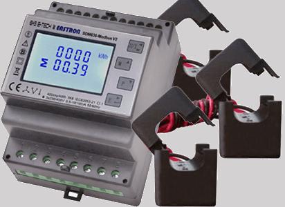 SDM630M-CT-V2-Modbus-Drehstromzähler mit Stromwandlern
